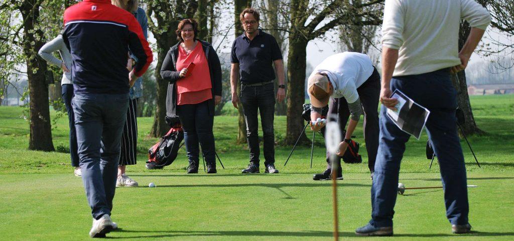 Golf op karakter